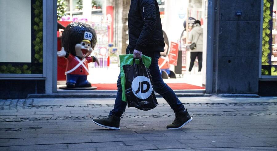 Danmark: Overskuddet på handelsbalancen lidt større end ventet. (Foto: Sarah Christine Nørgaard/Scanpix 2017)