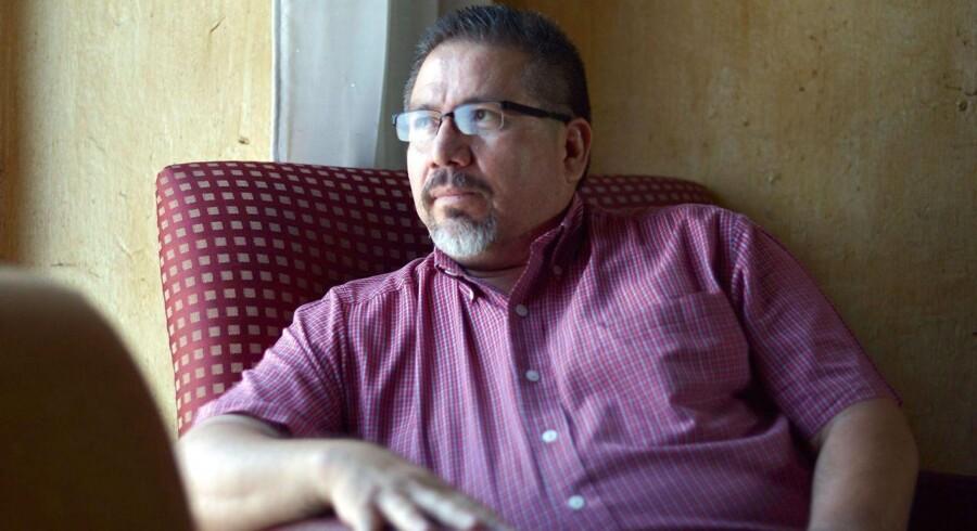 Arkivfoto: Den mexicanske journalist Javier Valdez, der var berømt for sine reportager om den kriminelle underverden i Mexico, er dræbt, efter ukendte gerningsmænd åbnede ild mod hans bil.