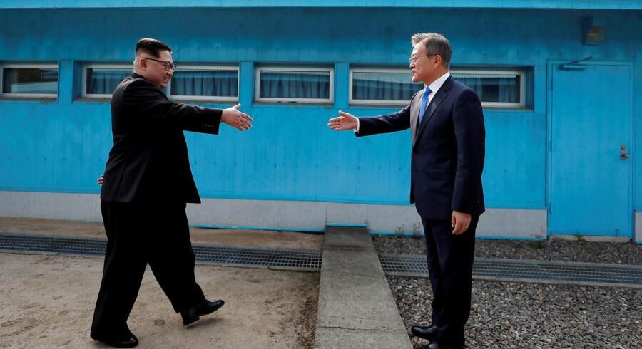 Lederne for Nord- og Sydkorea har taget hul på anden del af deres historiske møde ved grænsen.