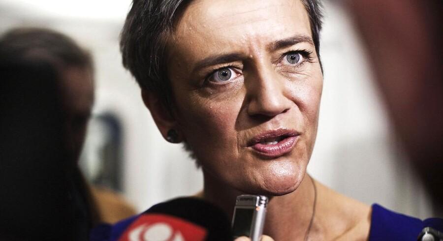 Den europæiske krise kommer nu for alvor til at ramme den danske økonomi, lyder det i økonomi- og indenrigsministeriets økonomiske redegørelse (arkivfoto).