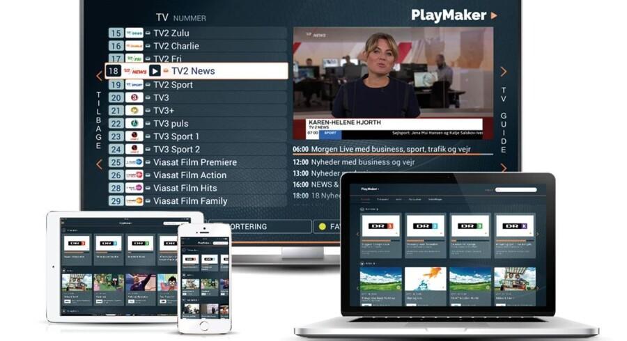 Canal Digital åbner sin streamingtjeneste, hvor man kan se sine TV-kanaler på andet udstyr over internetforbindelsen. Senere kommer serier og film med. Foto: Canal Digital