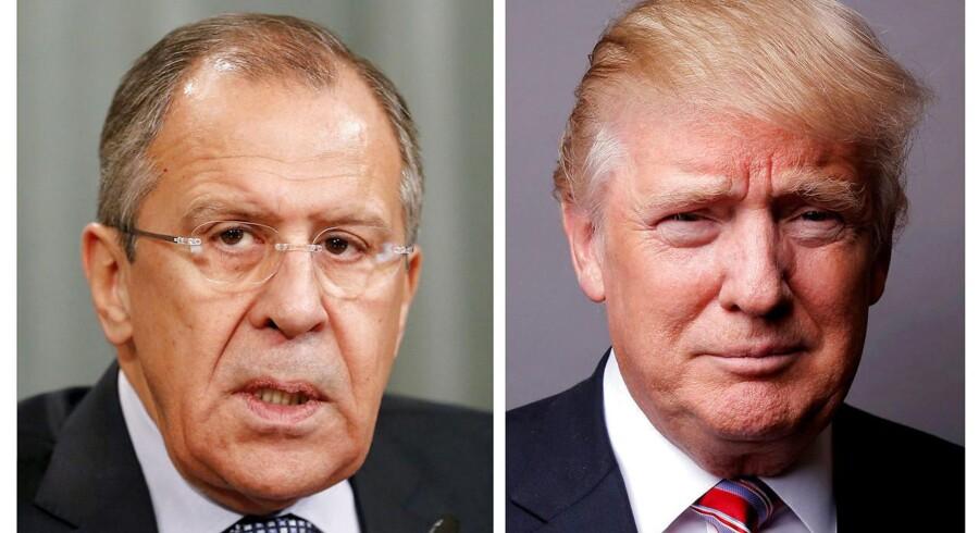 USA's præsident, Donald Trump, skal onsdag mødes med Ruslands udenrigsminister, Sergej Lavrov, i Det Hvide Hus.