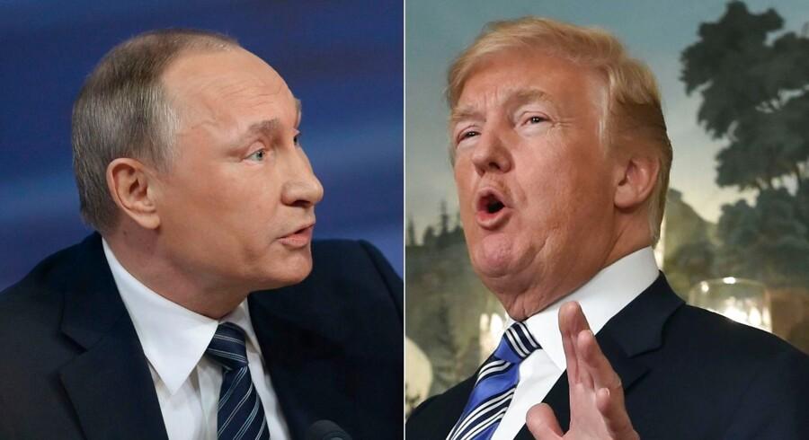 »Jeg vil spørge til indblanding (i valg),« sagde Donald Trump, da han blev spurgt, hvilke emner han vil tage op med Vladimir Putin under topmødet i Helsinki. Der bliver dog næppe nogen fælles udtalelse om emnet, mener russiske eksperter.