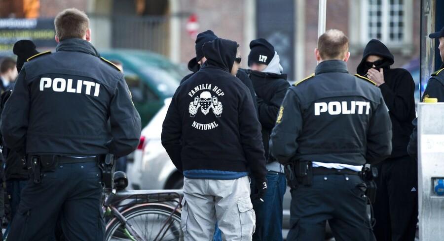 Arkivfoto. Alternativets bandeudspil indeholder blandt andet forslag om, at bandemedlemmer skal tilbydes strafnedsættelse for at hjælpe politiet og forrang til praktikpladser.