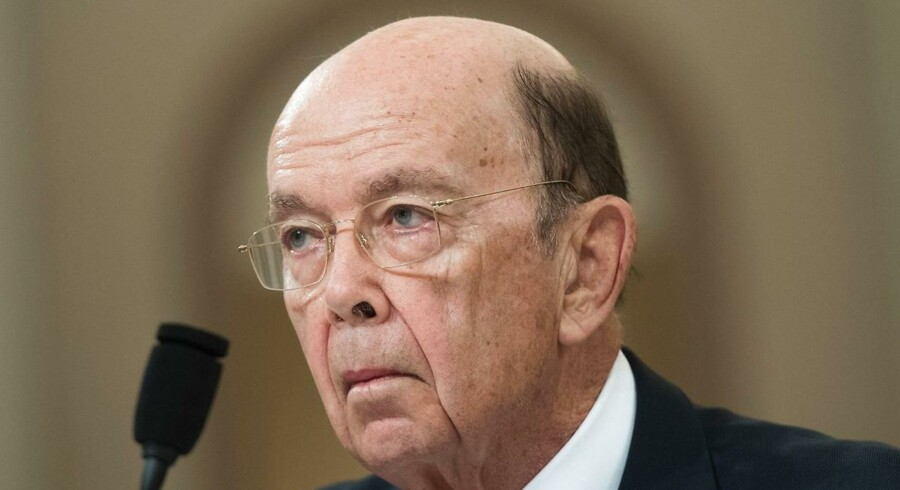 USA's handelsminister Wilbur Ross. Arkivfoto: AFP PHOTO / SAUL LOEB / Ritzau Scanpix