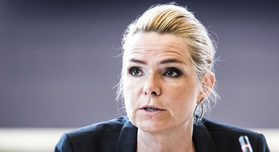 Udlændinge- og integrationsminister Inger Støjberg (V) var fredag formiddag indkaldt til et tredje samråd i sagen om de såkaldte barnebrude.