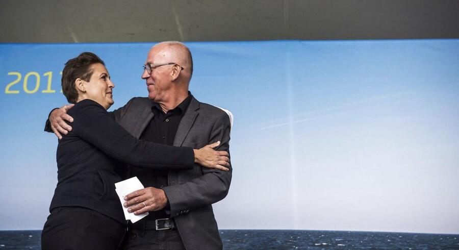 Villy Søvndal forventes at blive et stort trækplaster for SF ved regionsrådsvalget i november. På Folkemødet i juni varmede han således også op til partiformand Pia Olsen Dyhrs tale fra hovedscenen.