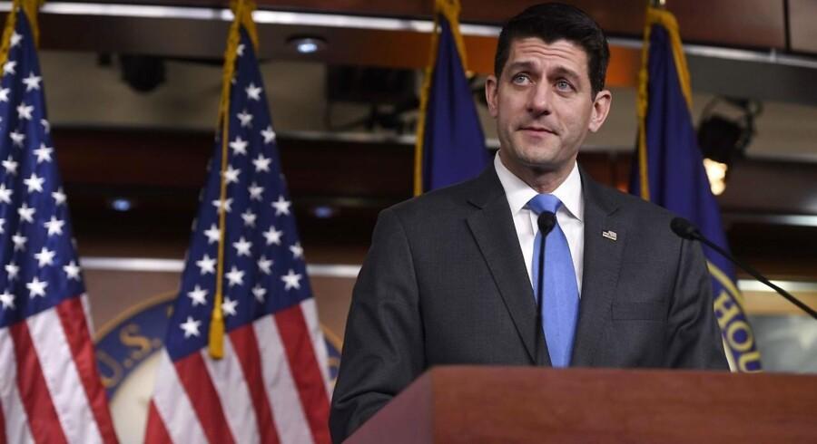 Paul Ryan genopstille ved det kommende midtvejsvalg i USA til november.
