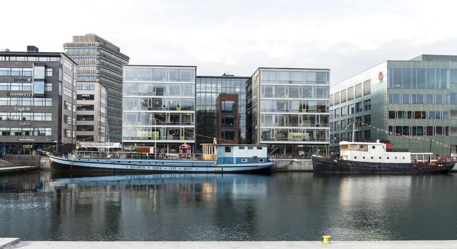 Nybyggeri på havnen i Malmø.