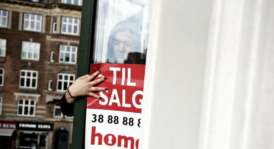 Boligerne skifter oftere hænder i København, og det kan være et udtryk for, at der spekuleres løs, og prisernes presses op. (Foto: Mathias Bojesen/Scanpix 2017)
