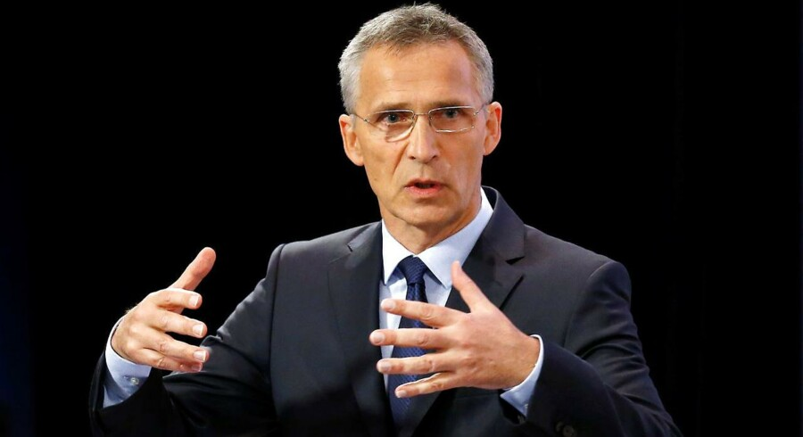 USA's præsident presser Nato-lande, men de har brugt endnu flere penge siden 2015, siger Natos leder.