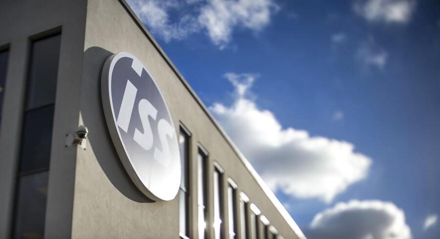 Rengørings- og servicegiganten ISS kom onsdag 8. november 2017 med regnskab for tredje kvartal. (Foto: Søren Bidstrup/Scanpix 2017)