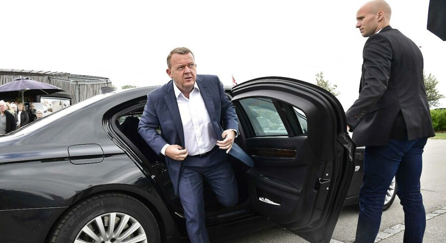 Præsident Donald Trump er ved at flytte USA et forkert sted hen, siger Lars Løkke i sin grundlovstale. (Foto: Bo Amstrup/Scanpix 2017)