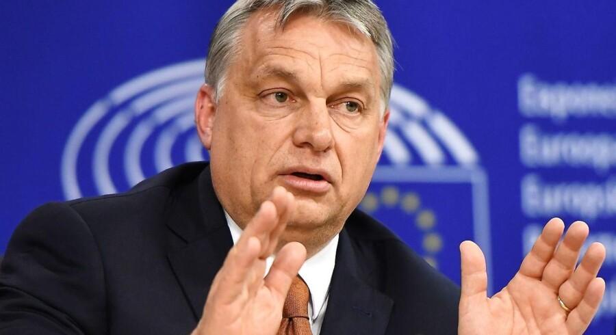 Ungarns højrenationale premierminister, Viktor Orbán, er efter vedtagelsen af en ny uddannelseslov blevet kritiseret af parlamentet.