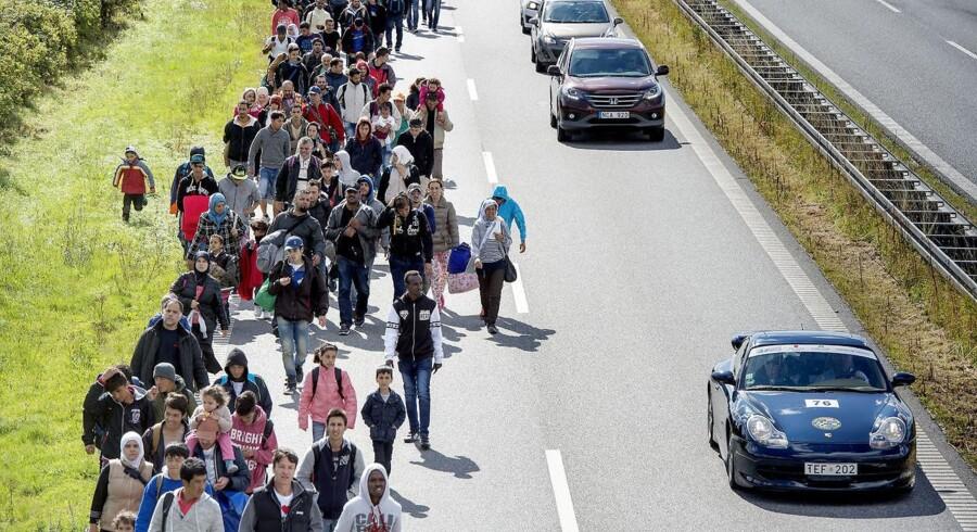 Arkivfoto: Indvandrere fra ikke-vestlige lande er en udgift for Danmark, mens indvandrere fra vestlige lande ofte er en indtægt, viser nye tal fra Finansministeriet.