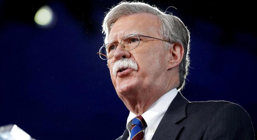 Tidligere FN-ambassadør John Bolton erstatter general McMaster på en af de mest centrale poster hos Trump. REUTERS/Joshua Roberts/File Photo