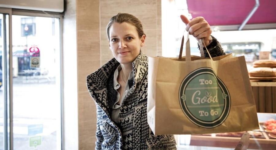 Endomondo-medstifter Mette Lykke bliver ny direktør i startup-virksomheden Too Good To Go. Her har den erfarne succesiværksætter fået sig et Too Good To Go-måltid i bageriet Reinh van Hauen på Frederiksberg.
