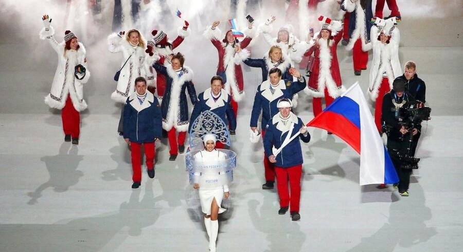 ARKIVFOTO: OL 2014: Rusland er udelukket fra vinter-OL som en konsekvens af dopingskandalen i landet, men for at beskytte rene russiske atleter har IOC tidligere tilladt, at nogle russiske atleter kan stille op under neutralt flag i Sydkorea.