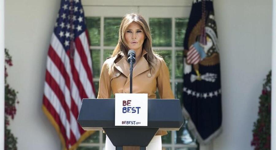 USAs førstedame, Melania Trump, lancerede mandag på sit første pressemøde sin nye kampagne »Be Best« for udsatte børn. Lanceringen kommer på et tidspunkt, hvor hendes popularitet er kraftigt stigende.