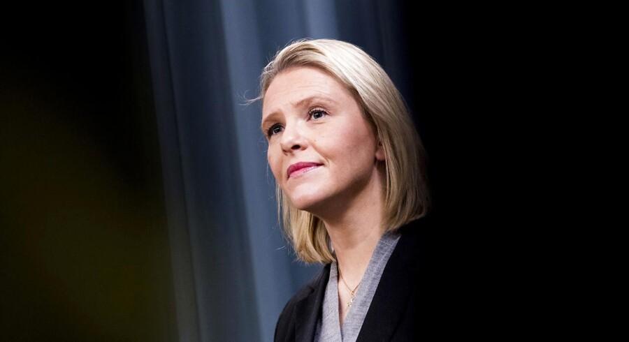 Det var en bitter Sylvi Listhaug, der tirsdag trådte tilbage som justitsminister efter massiv kritik af et Facebook-opslag fra 9. marts.