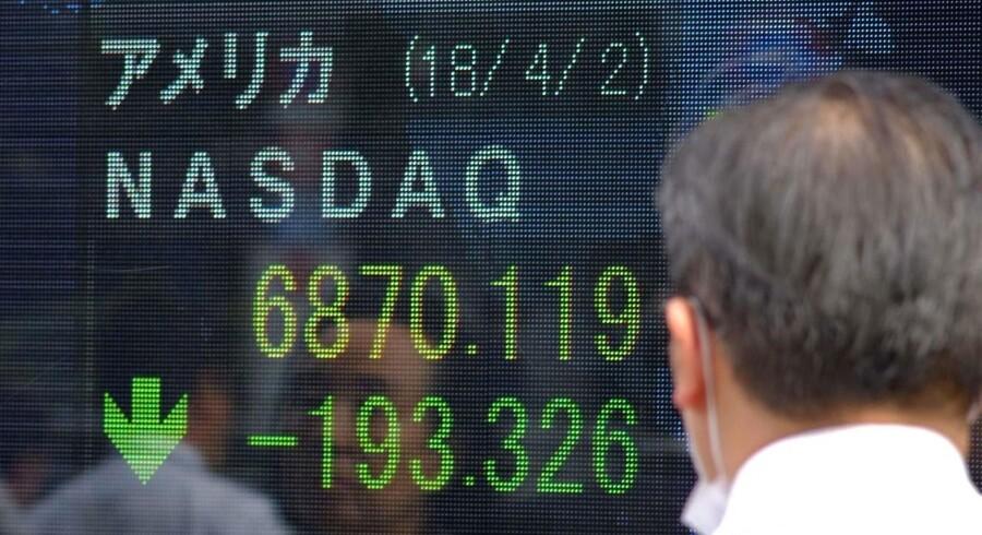 Nasdaq tog en ny lukkerekord, da indekset sidste uge ramte sin hidtidige top i 7679 onsdag.