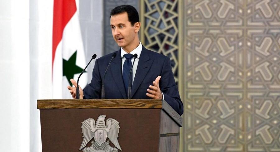 ARKIVFOTO: Syriens præsident Bashar al-Assad