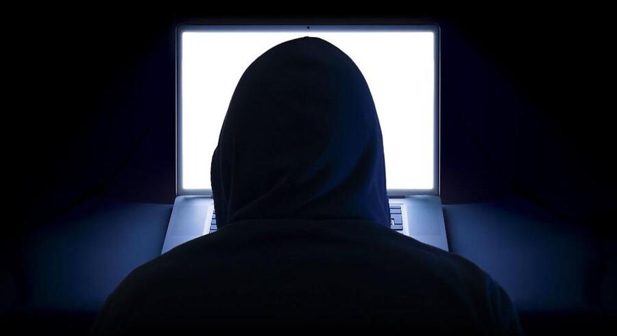 Hackere laver sabotage mod danske netsteder ved at bryde ind og skifte sider ud med deres egne budskaber. Arkivfoto: Iris/Scanpix