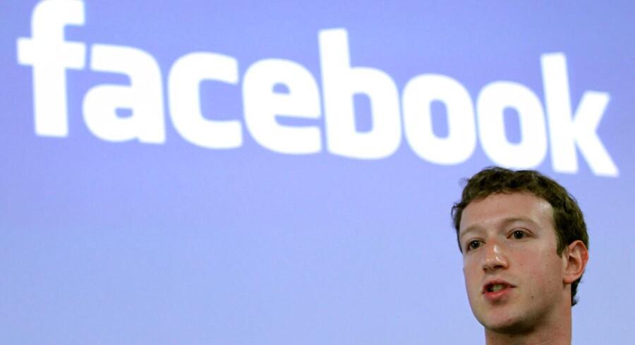 Mark Zuckerberg, CEO for Facebook.