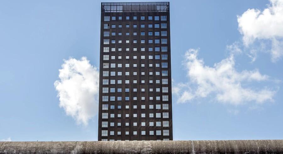 Bohrs Tårn - er det nye vartegn for Carlsberg Byen. Bygningen der er 100 meter høj ligger i den gamle Carlsberg by på Valby Bakke. Arkivfoto