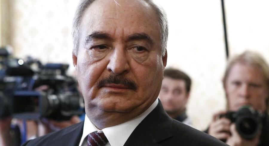 Den libyske militære leder Khalifa Haftar