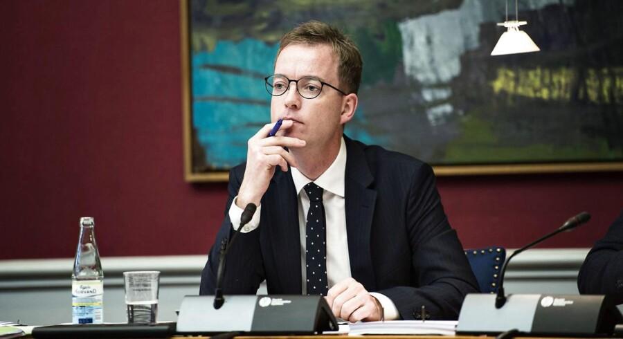 Miljøminister Esben Lunde Larsen.