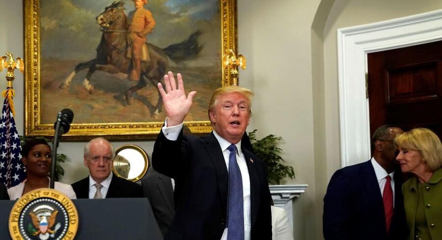 Donald Trumps svigersøn og særlige rådgiver, Jared Kushner, har ikke længere adgang til præsidentens daglige briefing.