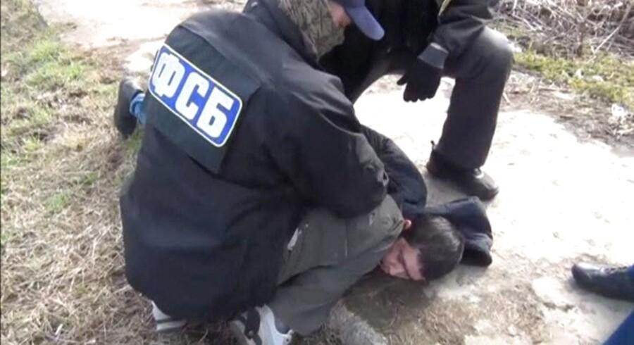 Foto af to FSB-officerer.