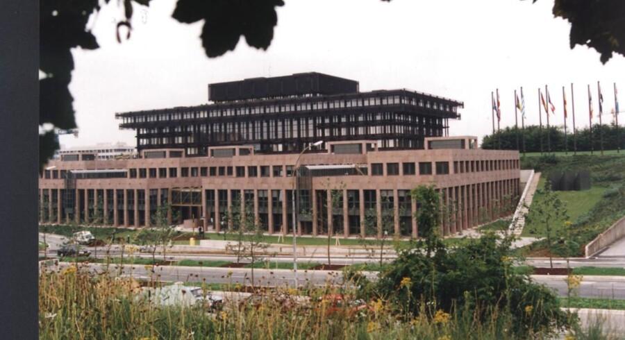 EU-Domstolen underkender de danske domstoles afgørelse i en sag om mulig diskrimination af dansk statsborger født i Bosnien. Her ses EU-Domstolen i Luxembourg udefra.