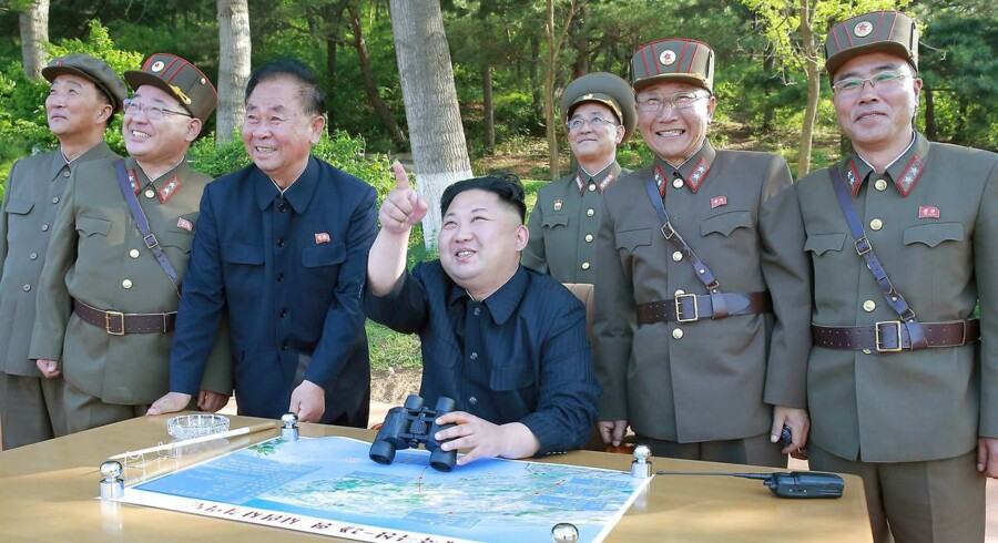 Kim Jong Un. Arkivfoto.