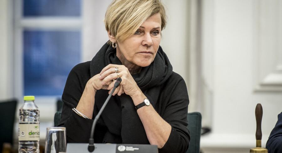 Kulturminister Mette Bock præsenterer torsdag klokken 13 regeringens medieudspil i Kulturministeriet. TV2 erfarer, at det vil indeholde besparelser af Radio24syv. Scanpix/Mads Claus Rasmussen
