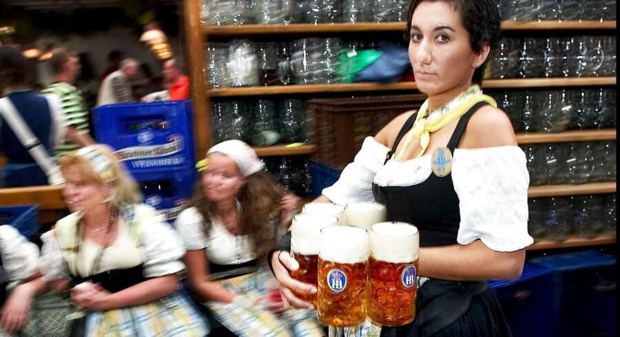 Arkivfoto: Oktoberfest i Munchen.