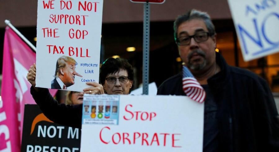 Kongressens to kamre, Senatet og Repræsentanternes Hus, er nu i gang med at afstemme deres respektive versioner af den amerikanske skattereform, der ventes at resultere i en reduktion af selskabsskatten til 20 pct. fra 35 pct.