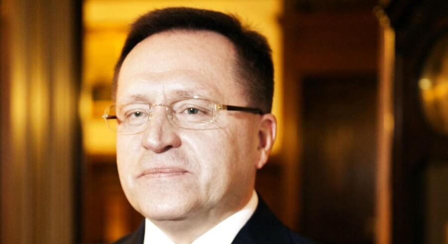 Ruslands ambassadør i Danmark, Mikhail Vanin.