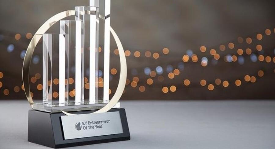 Arkivfoto: Entrepreneur Of The Year holdes i Forum i København og Kronprinsessen er til stede ved kåringen af »EY Entrepreneur of the Year 2017«. Entrepreneur Of The Year hylder de personer, som opbygger og driver succesfulde, ekspanderende og dynamiske virksomheder.