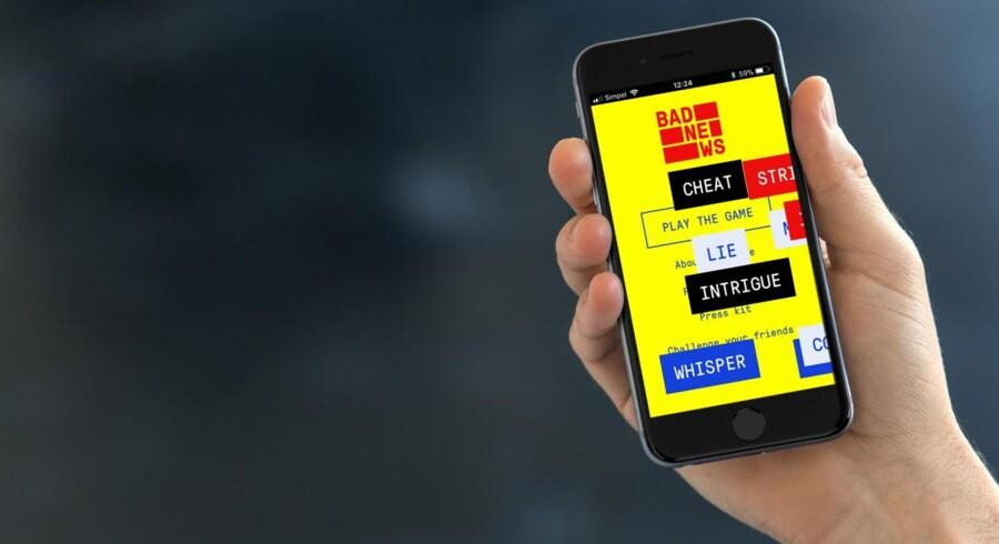 Spillet kan afvikles på mobil og PC.