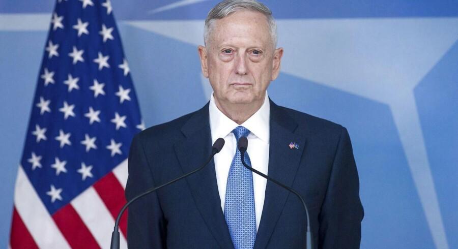 Den amerikanske forsvarsminister James Mattis