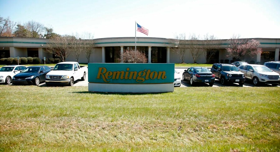 MADISON, NC - MARCH 26: The exterior of the Remington plant is seen on March 26, 2018 in Madison, North Carolina. Founded in 1816, Remington is one of America's oldest gun and ammunition manufacturers which now has filed for Chapter 11 bankruptcy protection partially due to an estimated $950 million in debt. Brian Blanco/Getty Images/AFP == FOR NEWSPAPERS, INTERNET, TELCOS & TELEVISION USE ONLY ==