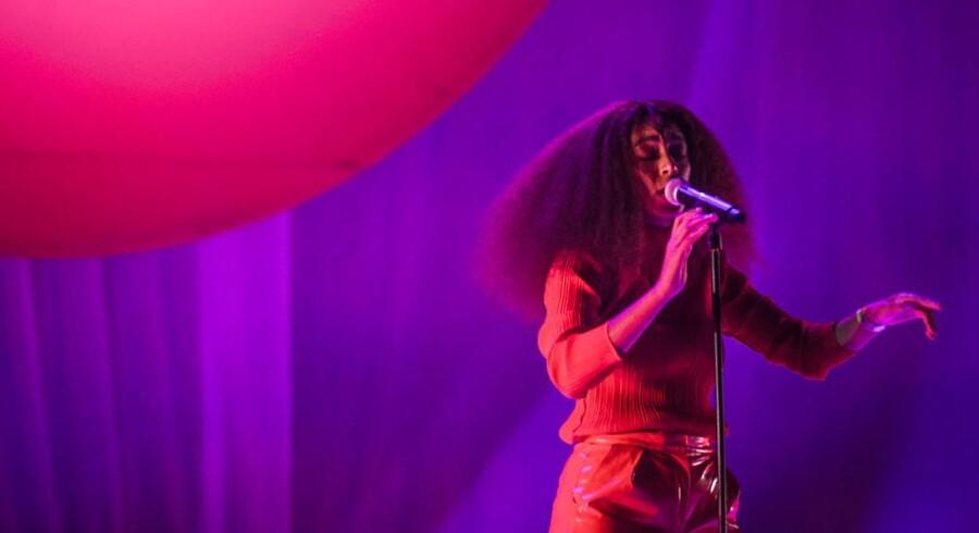 Sangerinden Solange spiller på Roskilde Festival 2017. Foto: Ida Marie Odgaard