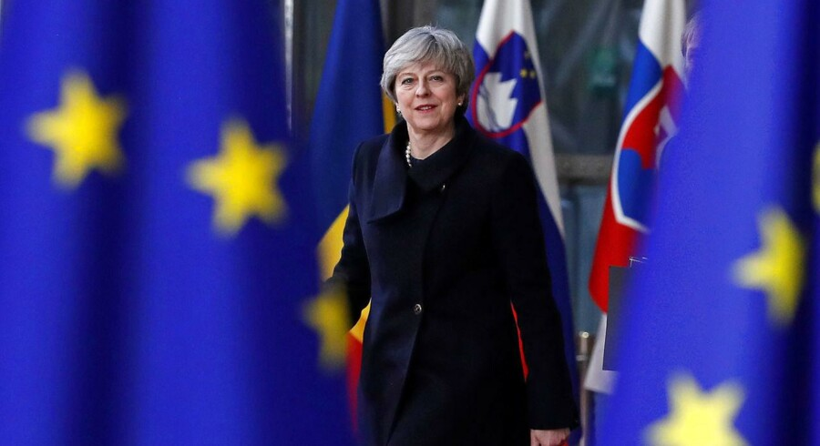 Britisk premierminister Theresa May.