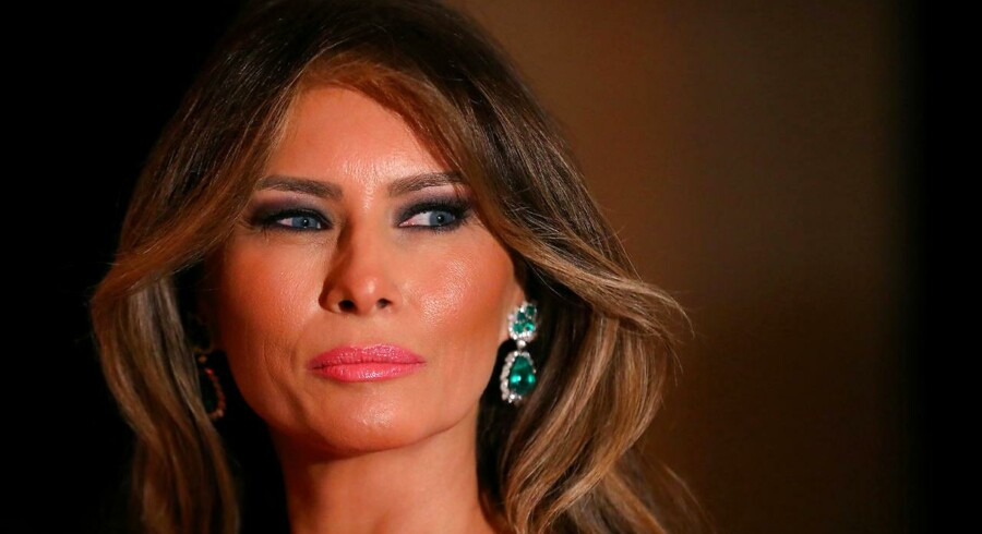 FILE PHOTO - - First Lady Melania Trump and U.S. President Donald Trump (not pictured) attend the 60th Annual Red Cross Gala at Mar-a-Lago club in Palm Beach, Florida, U.S., February 4, 2017. REUTERS/Carlos Barria/File Photo