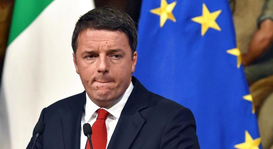 """Det vurderer senioraktierådgiver Martin Munk fra Jyske Bank i kølvandet af det rungende """"nej"""" til en reform af den italienske forfatning, som de italienske vælgere sendte premierminister Matteo Renzi søndag."""