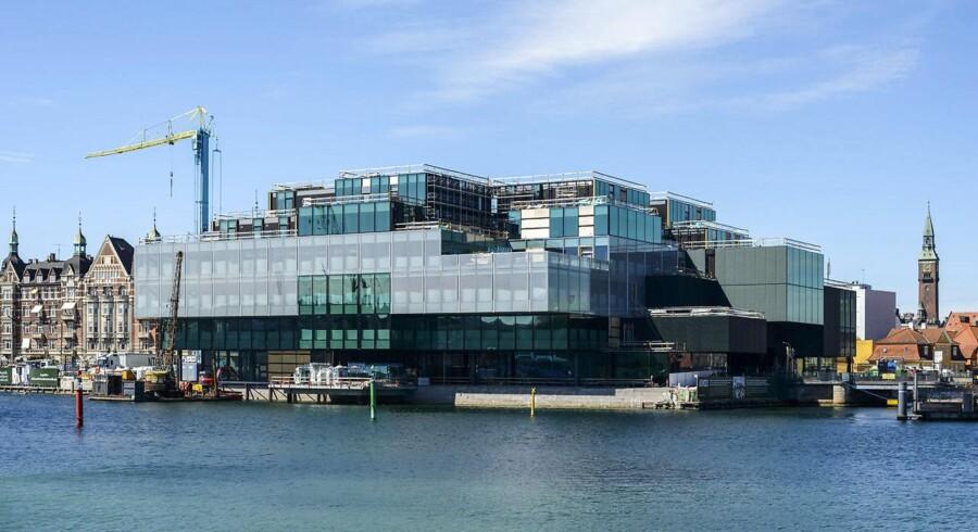 Blox, der indvies til maj 2018 og bliver bygget på Bryghusgrunden, som ligger ned til havneløbet på Christians Brygge mellem Langebro og Det Kongelige Bibliotek.