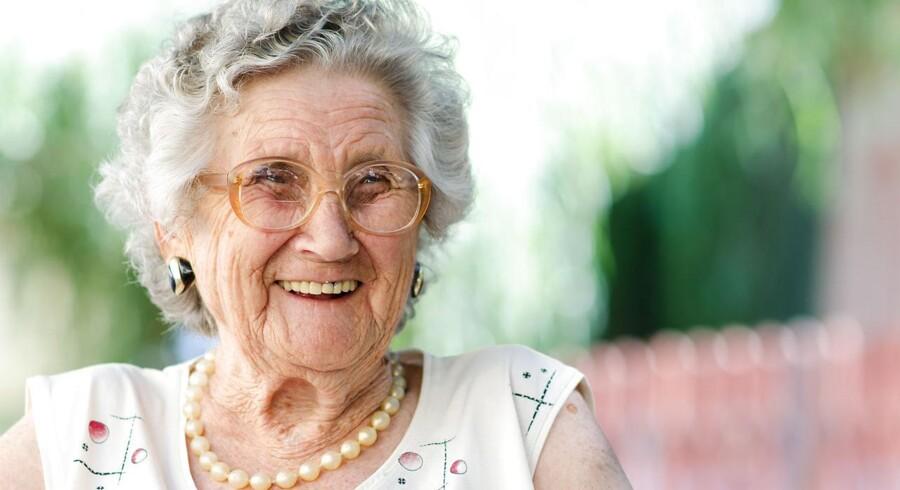 Antallet af mennesker over 100 år er 18 procent højere i 2017 end for blot fem år siden, og den gennemsnitlige levealder bliver højere for hvert år. Men vi er stadig kun ved begyndelsen, mener professor i Sund Aldring. Foto: Scanpix