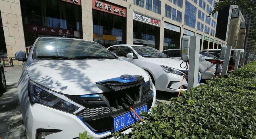 Kina planlægger at forbyde alle benzin- og dieselbiler.